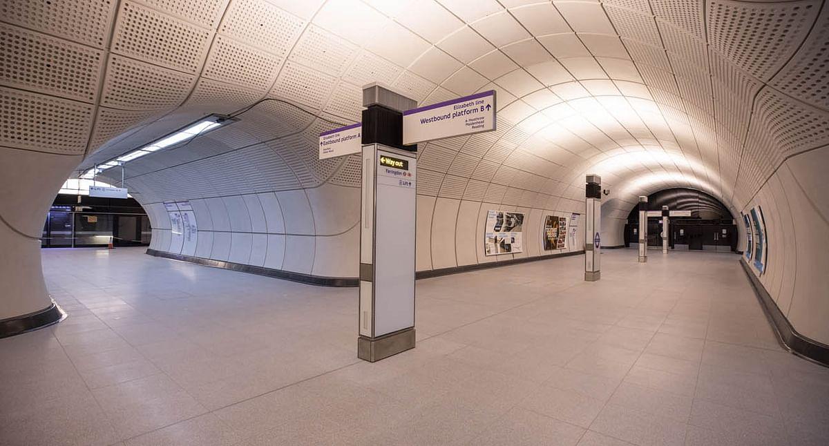 Crossrail Hands Over Farrington Elizabeth Line Station to TFL