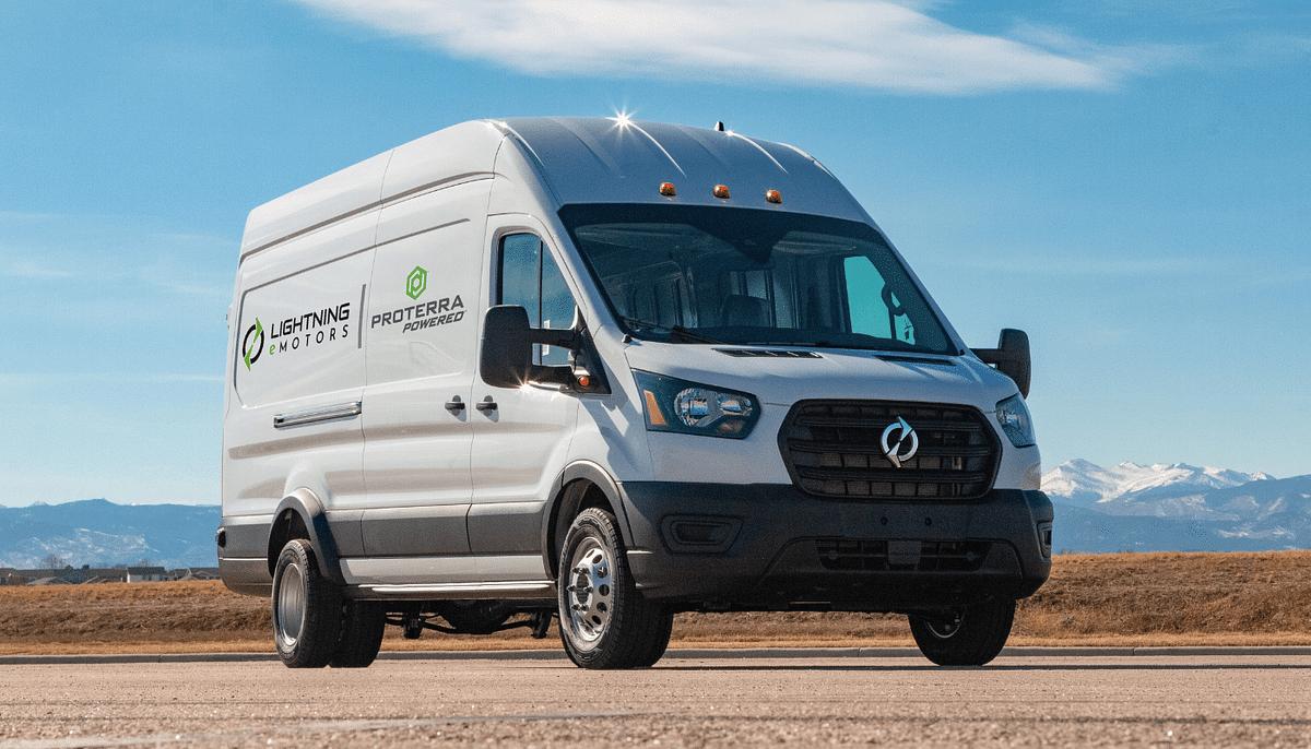 Proterra Battery to Power Lightning eMotors Electric Van