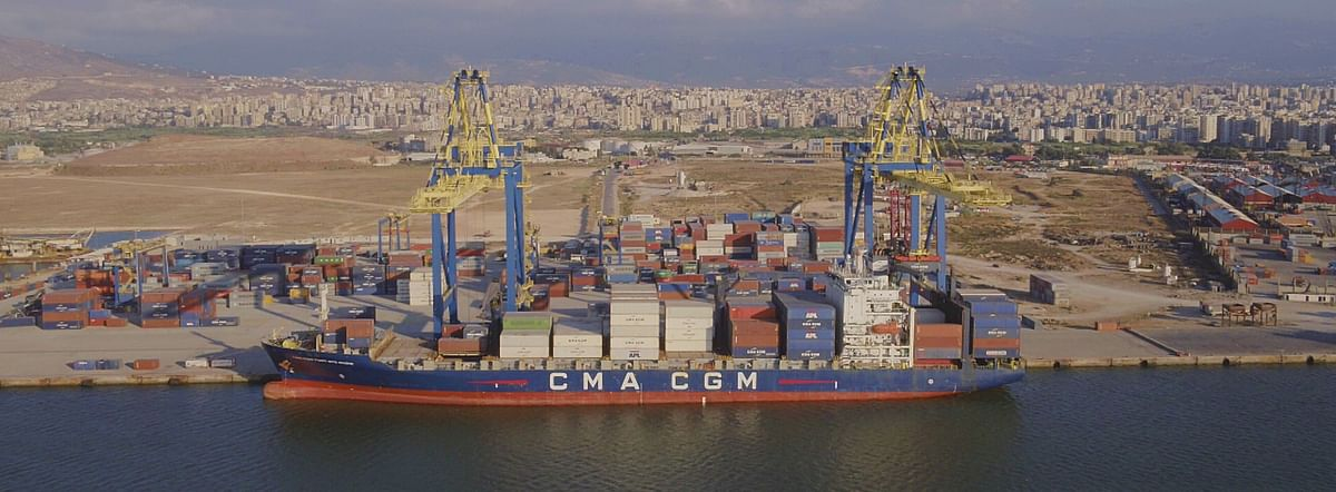 CMA CGM Acquires Tripoli Container Terminal's Gulftainer Lebanon