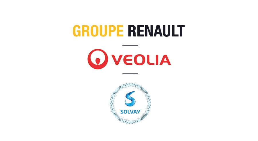 Groupe Renault, Veolia & Solvay to Recycle EV Battery Metals