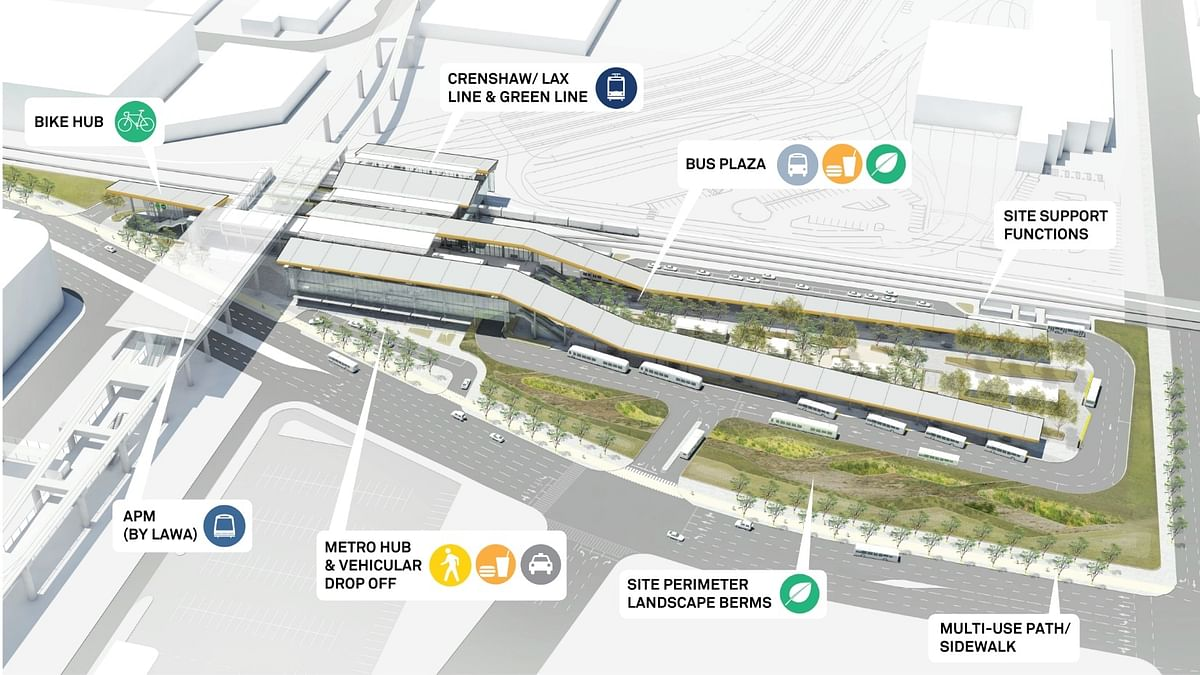 Tutor Perini to Build LAX Airport Metro Connector Project
