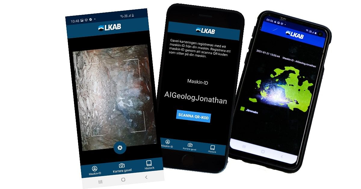LKAB Testing AI for Geological Mapping at Kiruna Mine