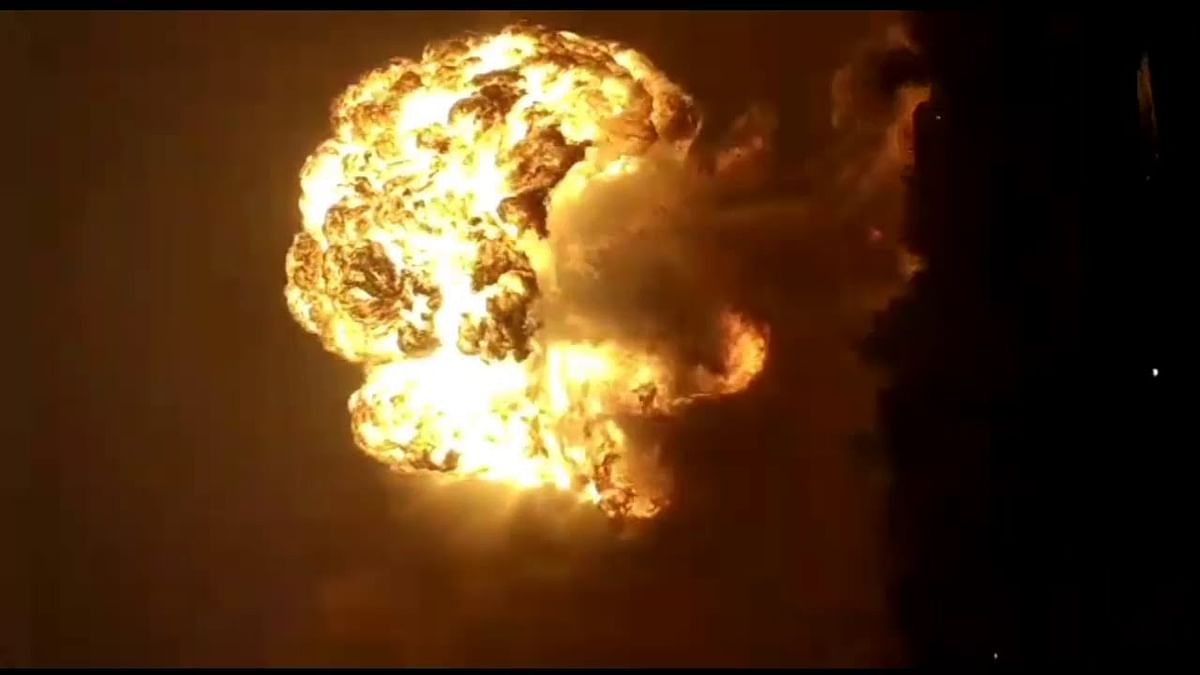 Furnace Blast Kills One & Injures 6 at Sarthak TMT Plant in Raipur