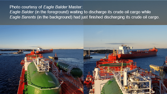 Eco Shipping with LNG Dual Fuel DPSTs Eagle Balder & Barents