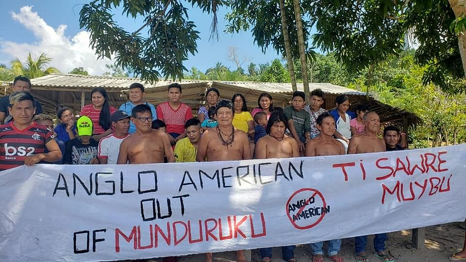 Anglo American May Mine in Indigenous Lands in Amazon