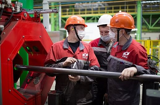 OMK Produces Small Diameter Electric Welded Tubing for Rosneft