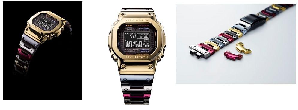 Nippon Steel's Titanium Alloy for Casio G-SHOCK Watch Model