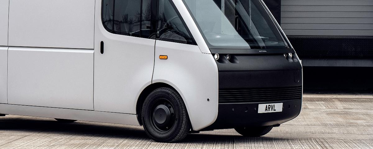 Arrival Unveils Electric Van