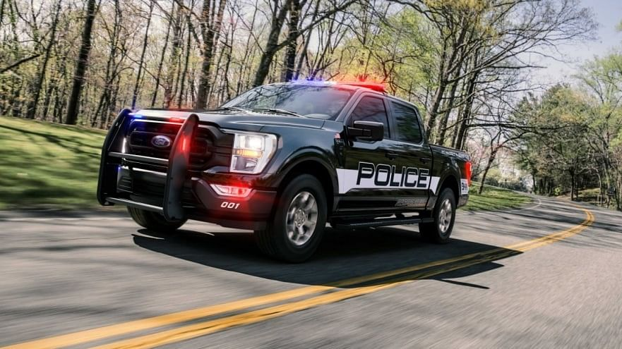 Ford Unveils New 2021 F-150 Police Responder