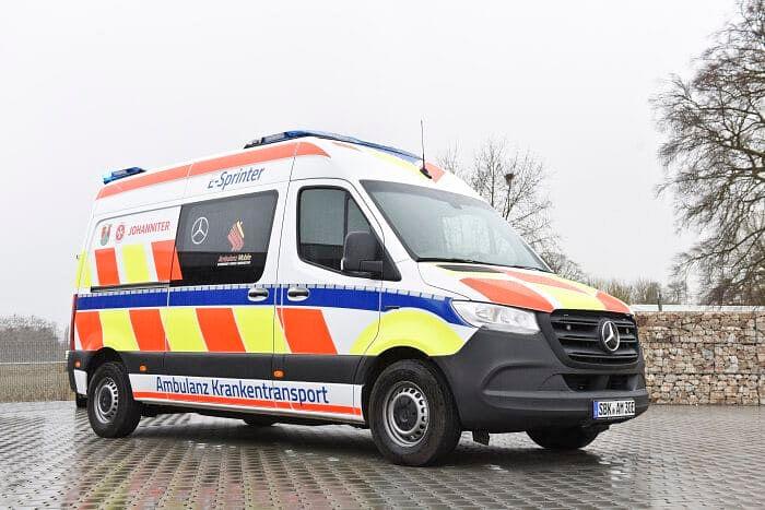 Mercedes-Benz Vans is Electrifying Ambulance Vehicles