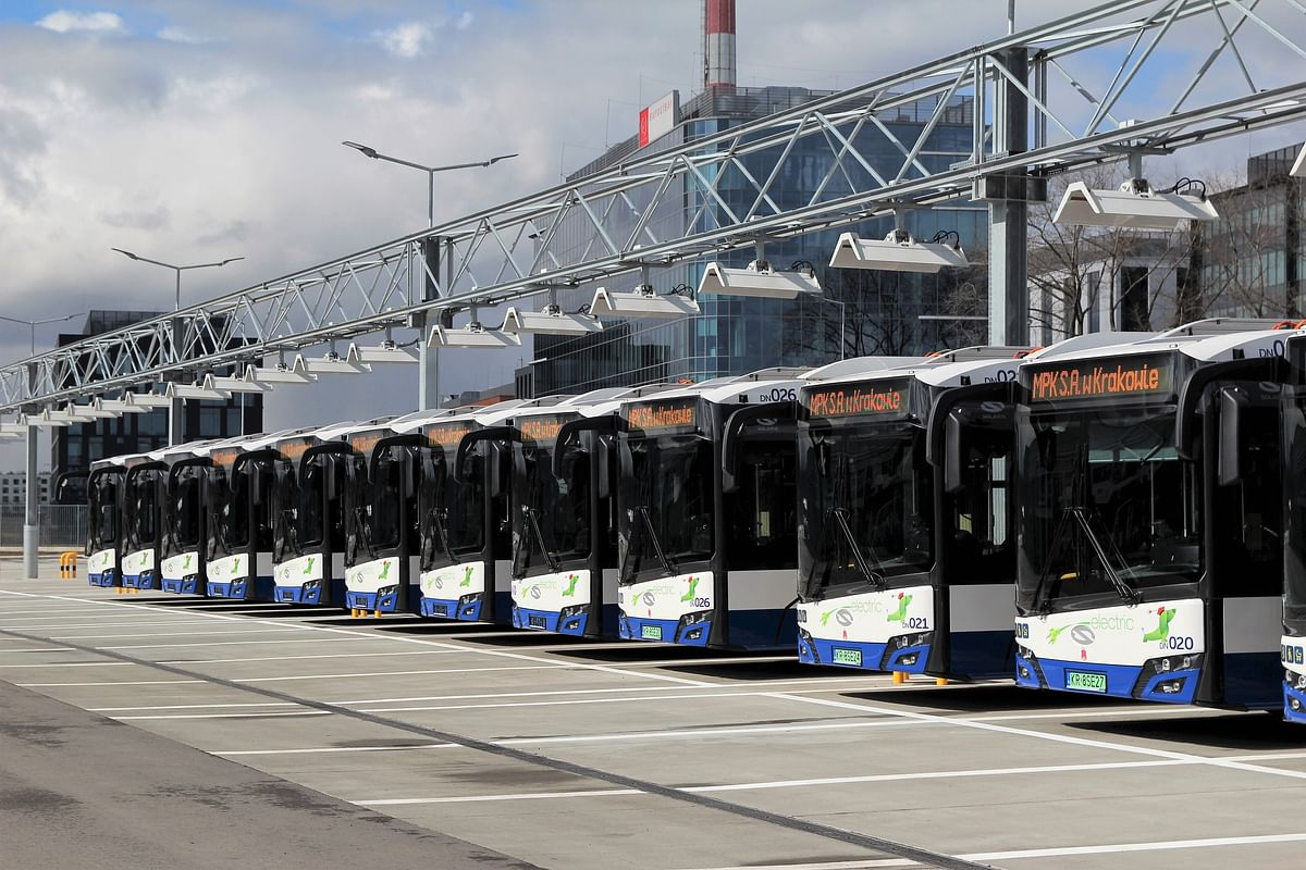 Craków Receives Solaris Electric Buses