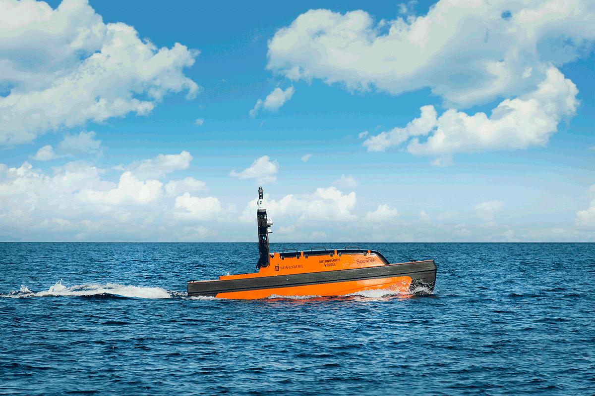 KONGSBERG to Deliver Ecosystem Monitoring Autonomous Vessels