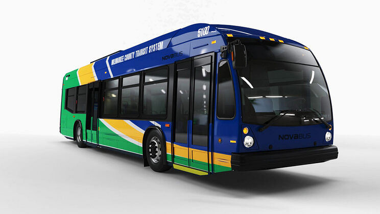 First Electric Bus Order for Nova Bus in US