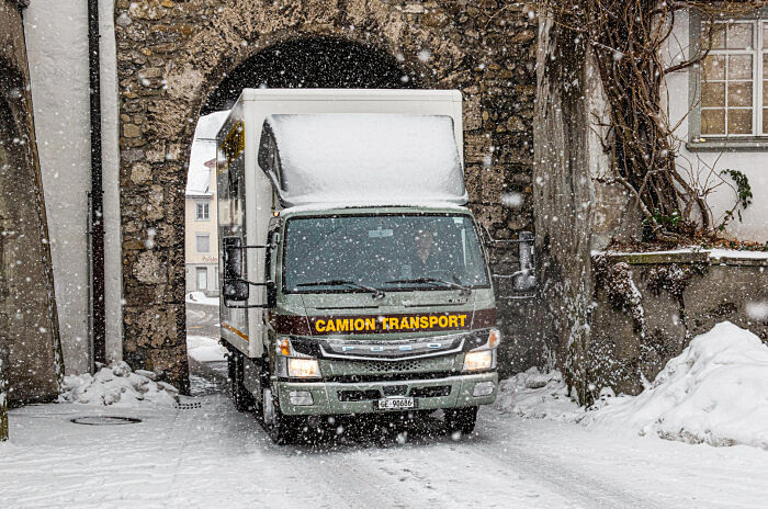 Camion Transport Gets 3 FUSO eTrucks for Swiss Streets