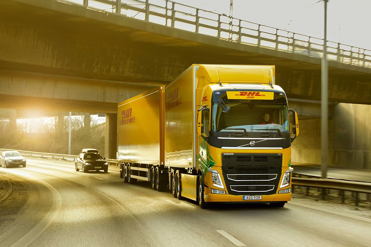 DHL Freight & Volvo Trucks to Promote Fossil Free Road Transport