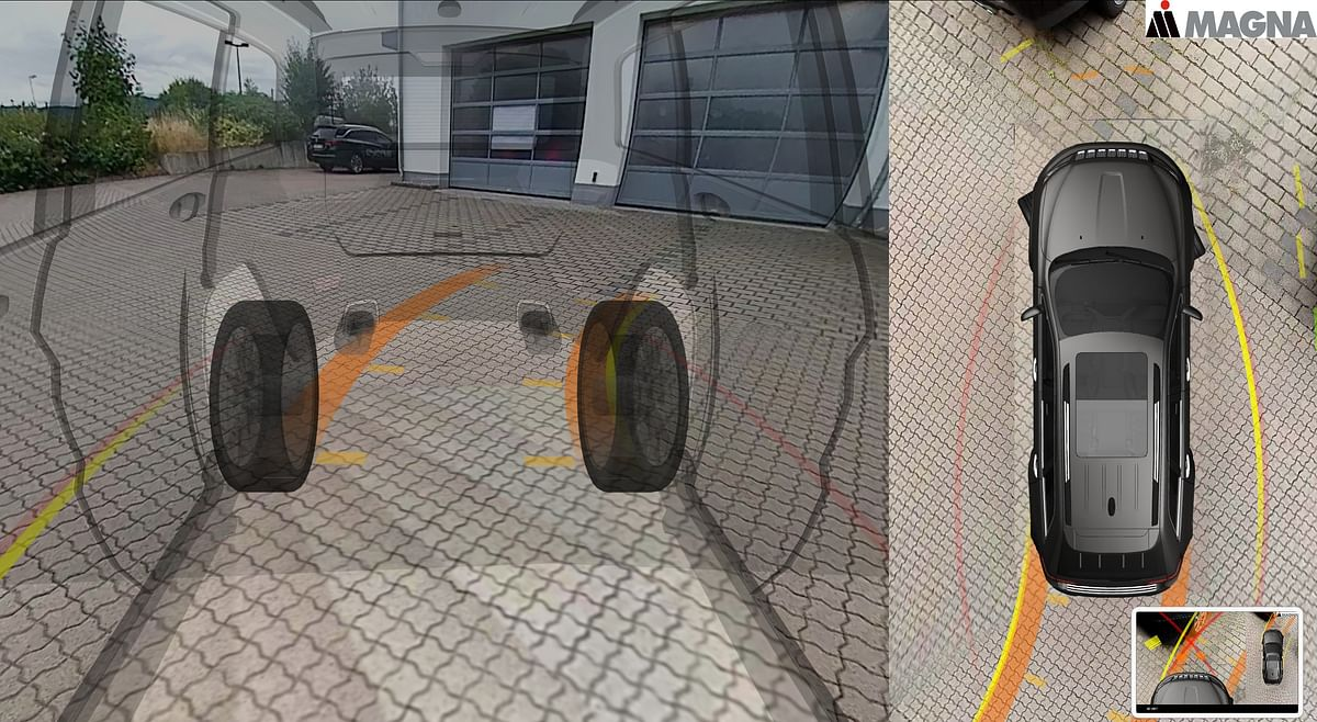 Magna 3D Surround View System for Automakers in 2022