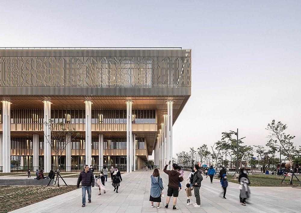 Mecanoo & MAYU Completes Tainan Public Library