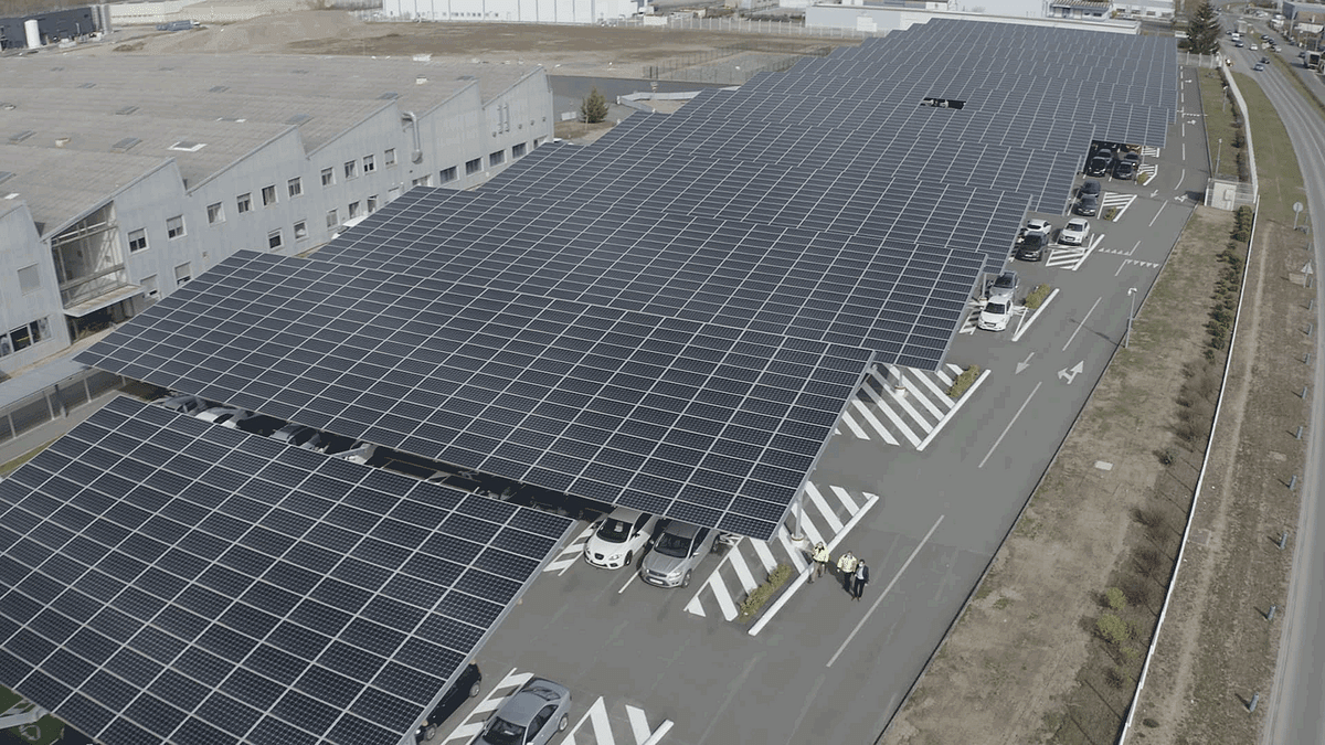 Total Solarizes L'Oréal's Industrial Site in France