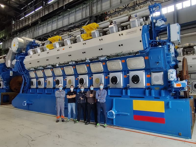 Wartsila Power Plant for National Grid in Colombia