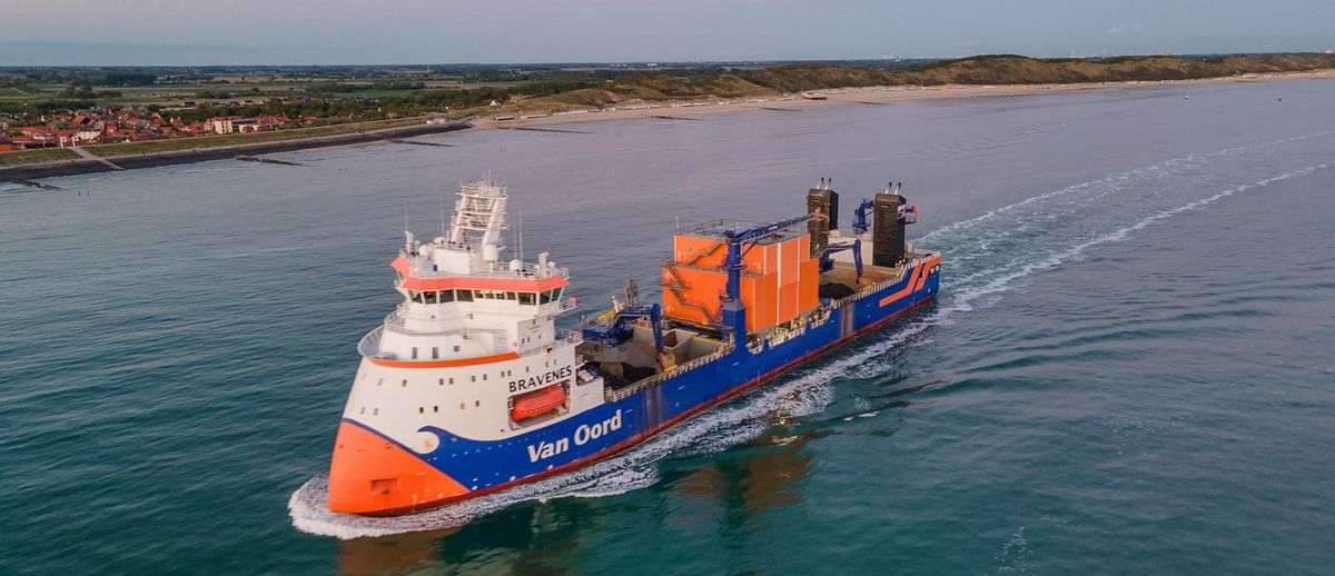 Van Oord Adopts Technology to Further Reduce Emissions
