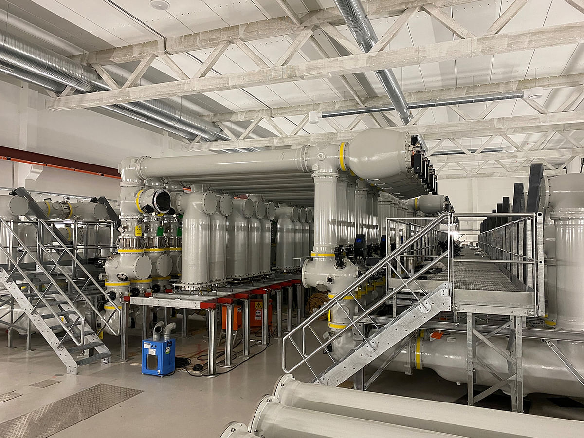 GE's Green Gas for Grid Technology in Norway