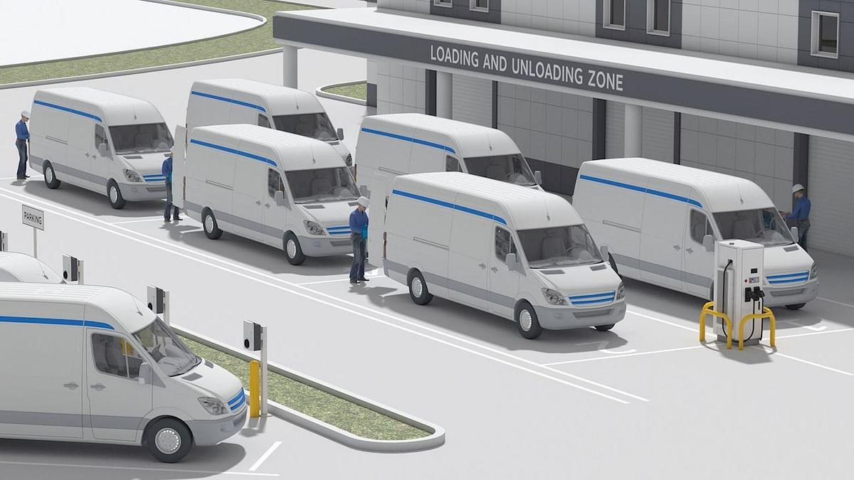 ABB & AWS to Develop Fleet Management of EVs