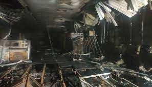 Fire Breaks Out at SAIL RSP SMS 2 Control Room