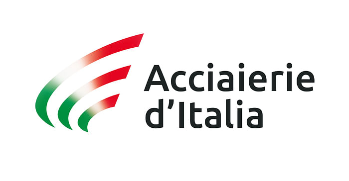 Acciaierie d'Italia Choose Logo with Italian Tricolor