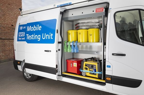 DHSC Orders 500 Renault Masters for COVID Mobile Testing Units