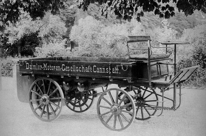 First truck was Built by Gottlieb Daimler in 1896