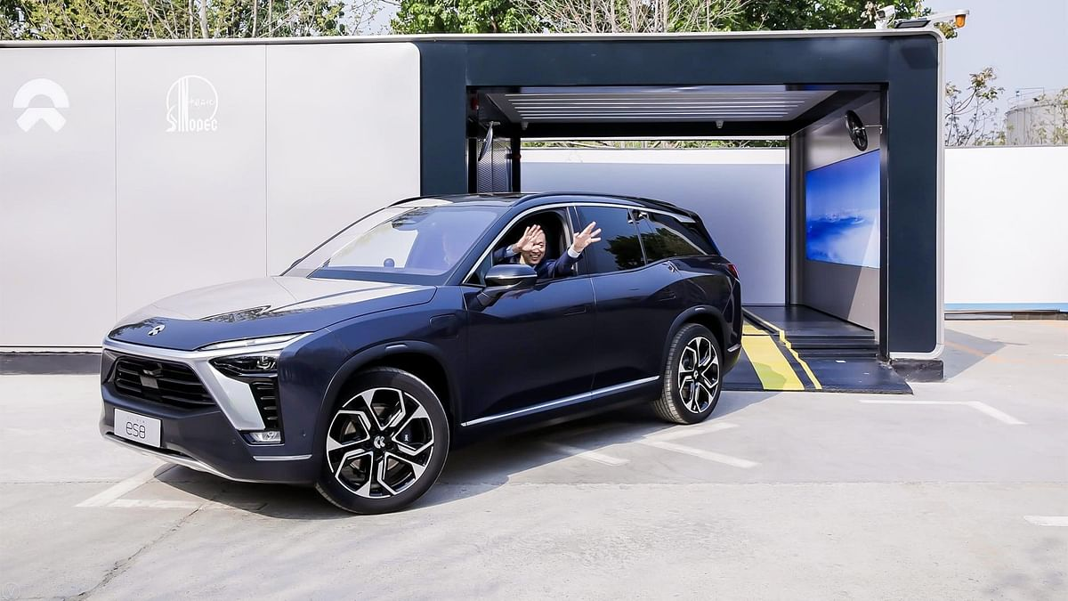 NIO Power Swap Station 2.0 Starts Operation in Beijing
