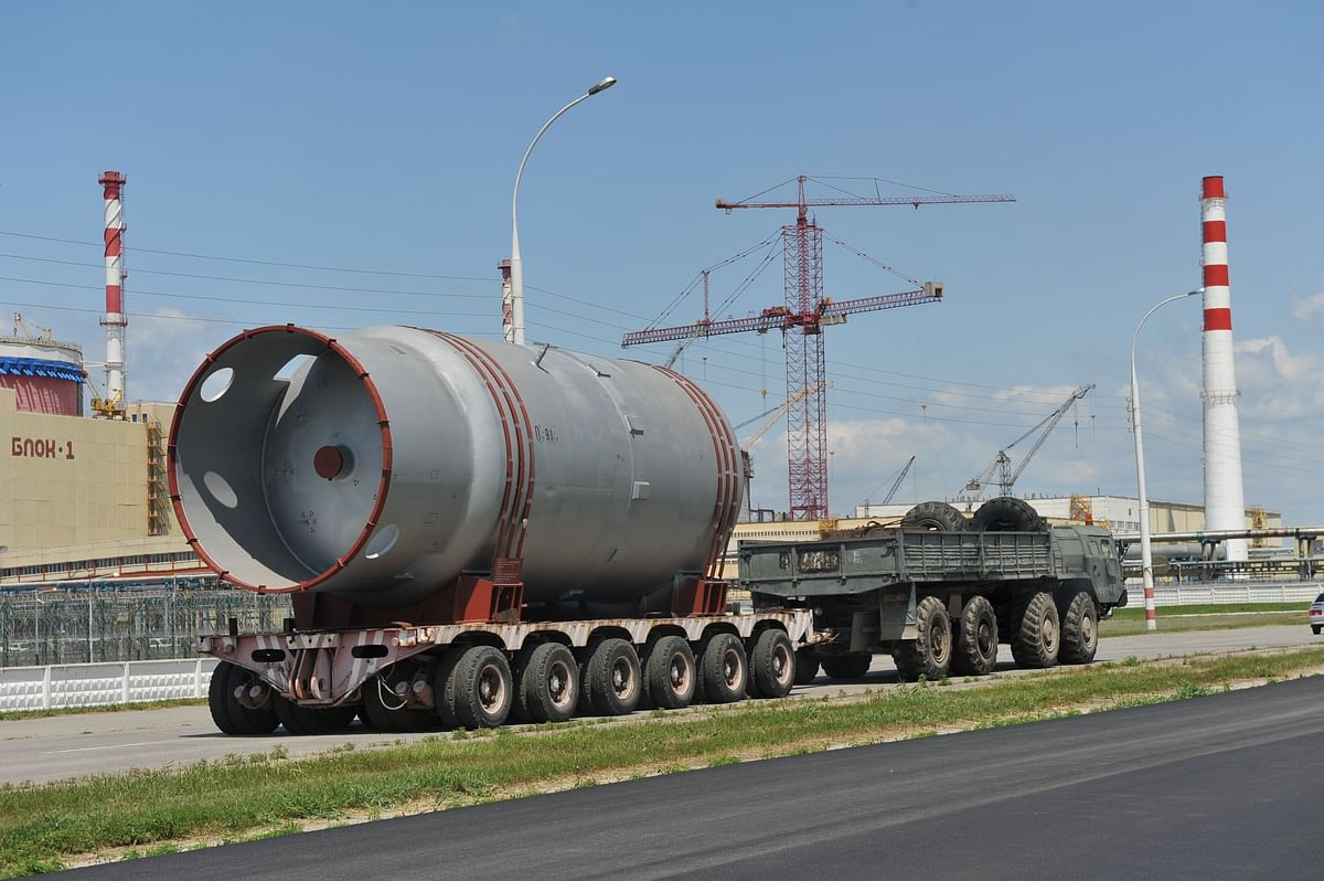 ROSATOM Delivers Turbine Components to the Akkuyu NPP Turkey