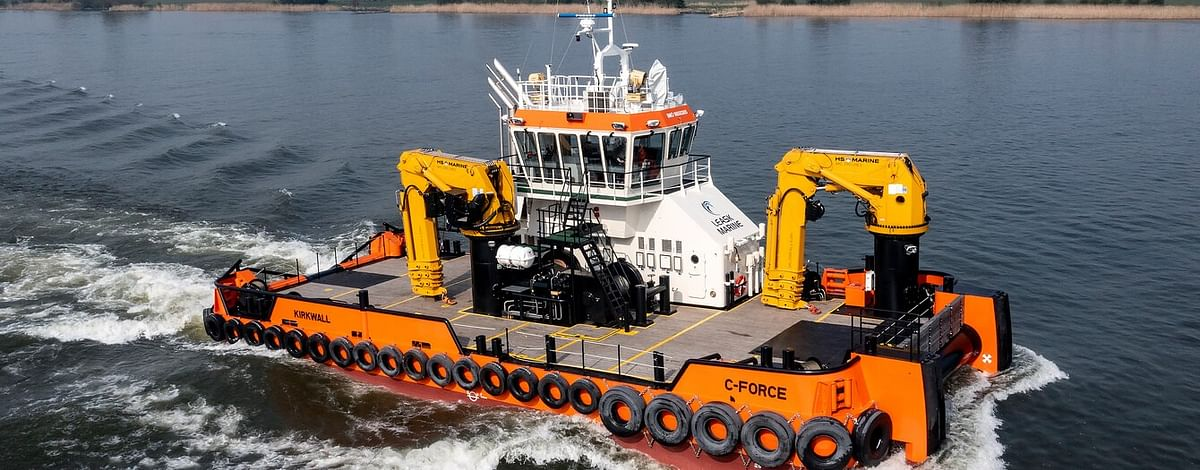 Damen delivers Multi Cat to Leask Marine in Record Time