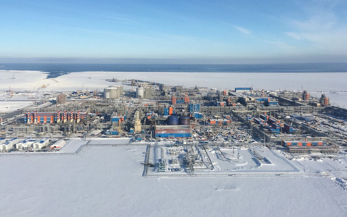 Severstal Deliver 27KT Large Diameter Pipes for Arctic LNG 2
