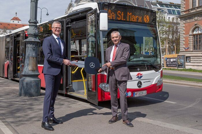 Wiener Linien Relies on EvoBus Austria & Mercedes-Benz Citaro