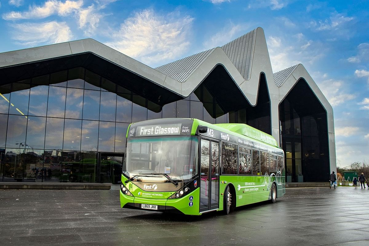 First Bus Orders 126 BYD ADL Buses for Glasgow Fleet