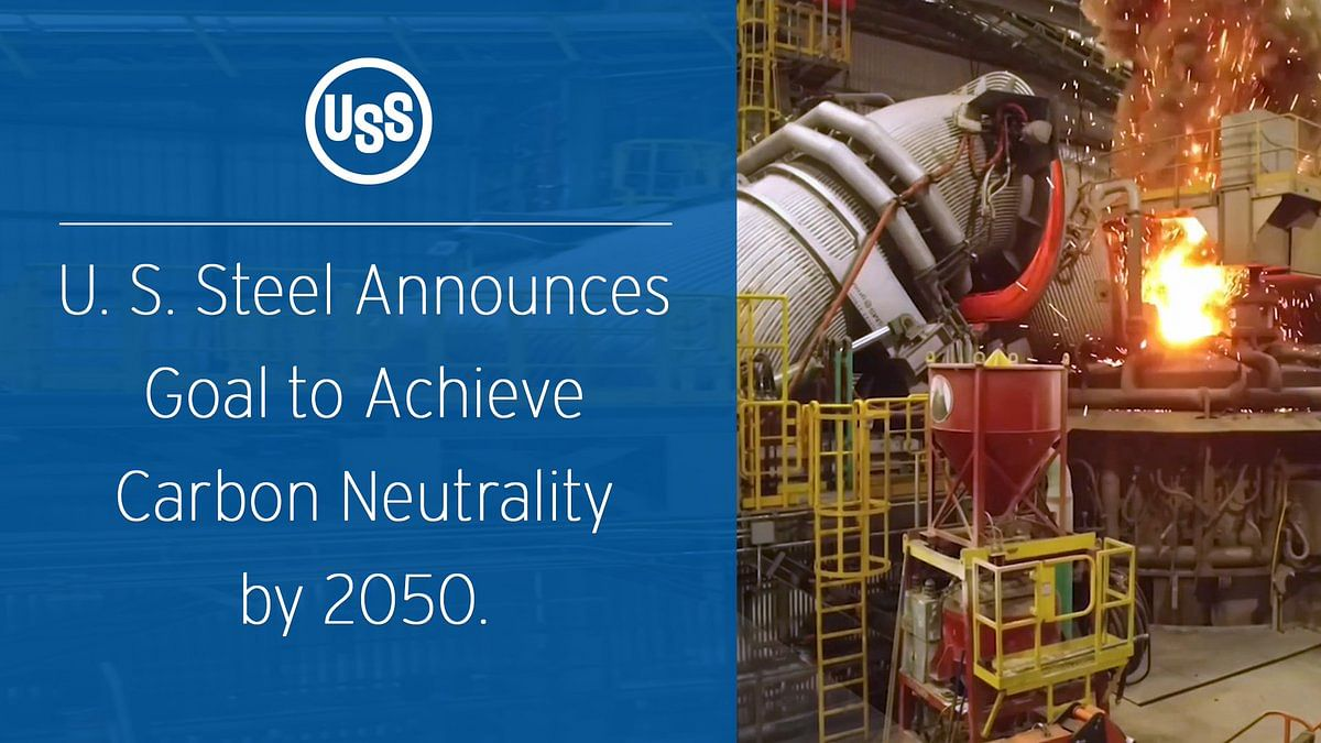 US Steel to Achieve Carbon Neutrality by 2050