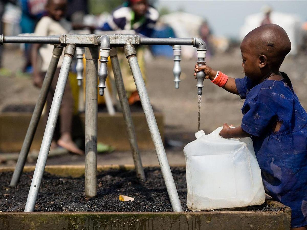 London Funds Clean Water in Kivu in DRC