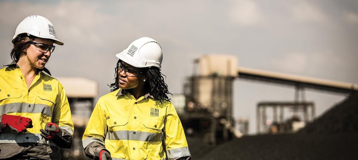South32 Coal Production Drops in South Africa