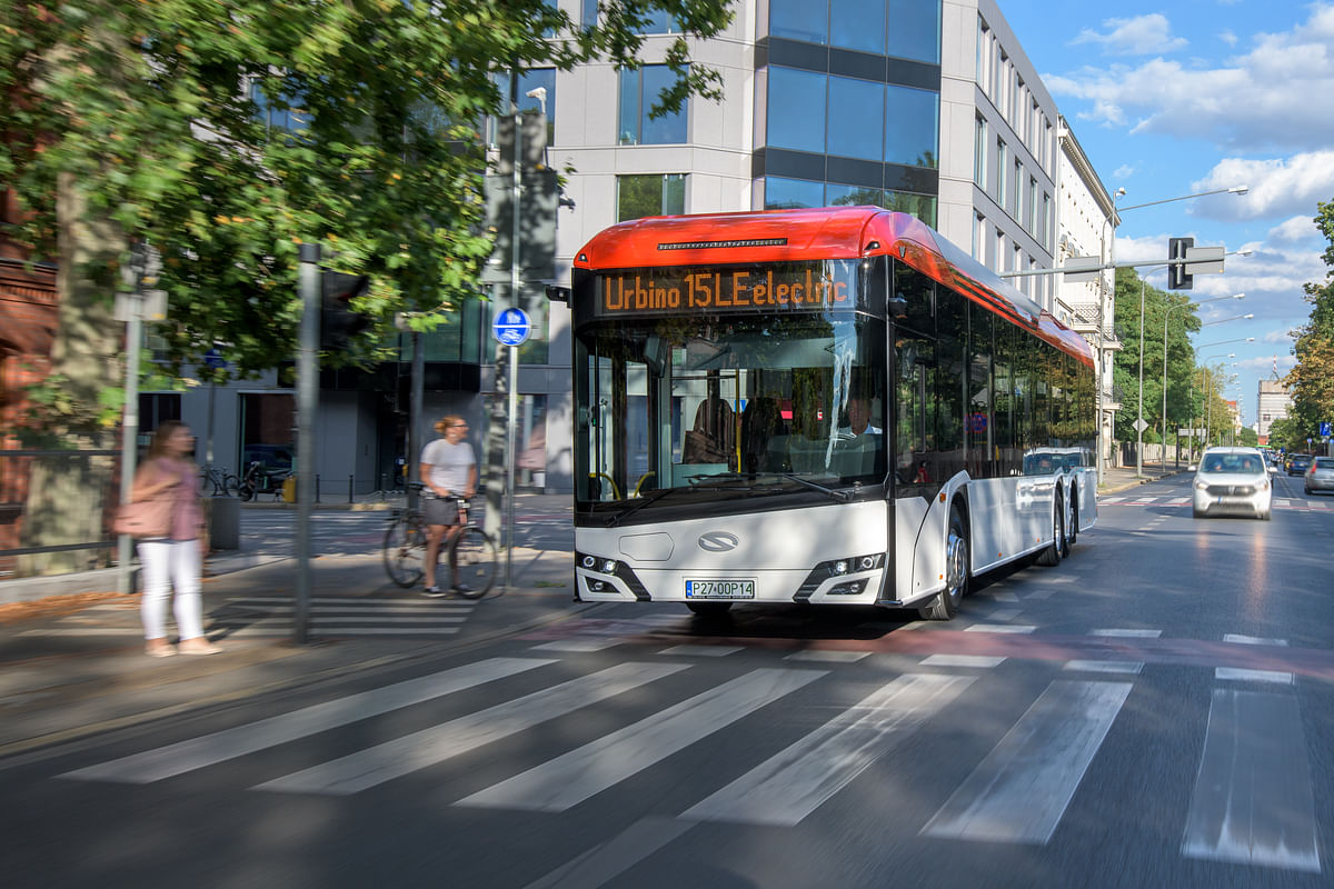 Solaris Urbino 15 LE Electric Named Best Electric Bus