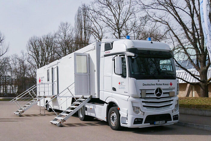 Mercedes-Benz Actros Vaccination Lab for Rems-Murr District