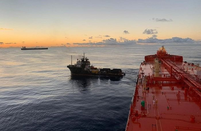 AET Tankers Eagle Pilar Completes STS Operation in Brazil