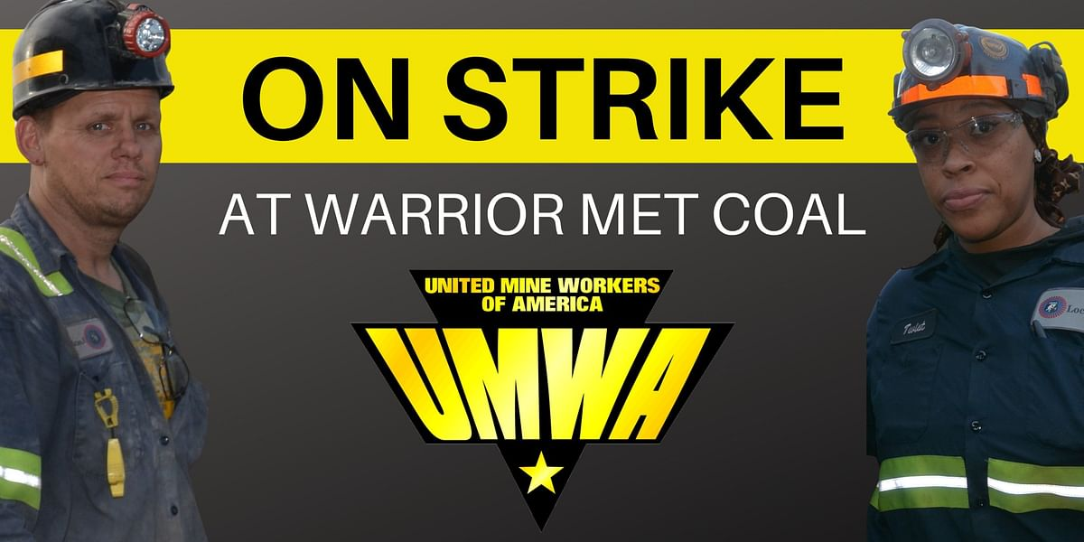 Workers at Warrior Met Coal Brookwood Mine Strike