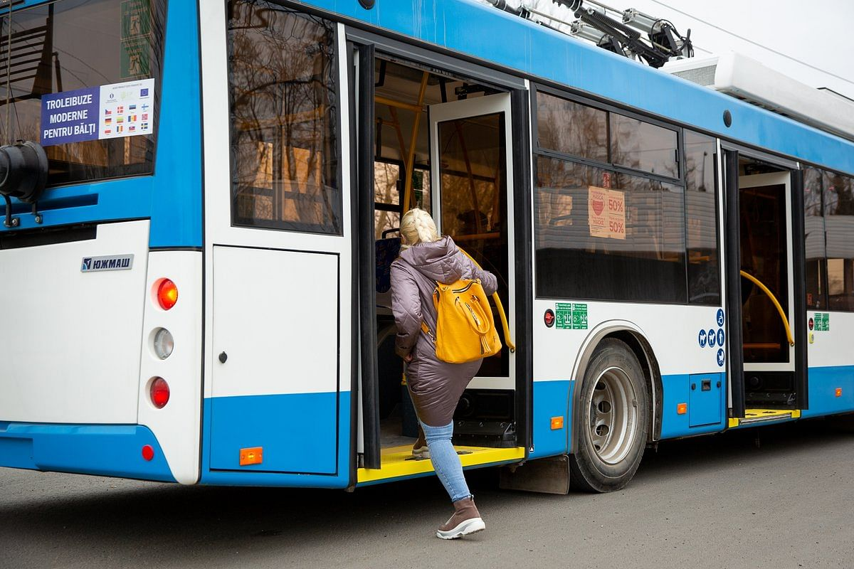 EBRD & E5P Fund Supports Balti City in Moldova for Trolleybuses