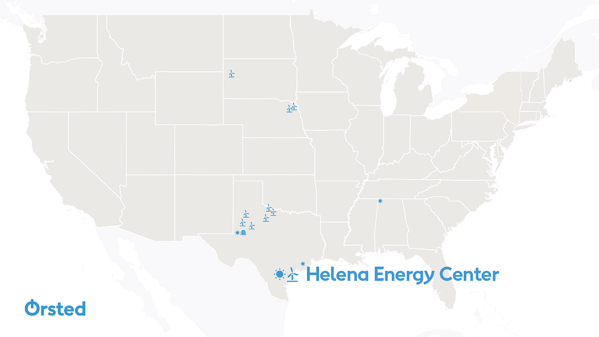 Ørsted Starts Construction of Helena Energy Center in South Texas