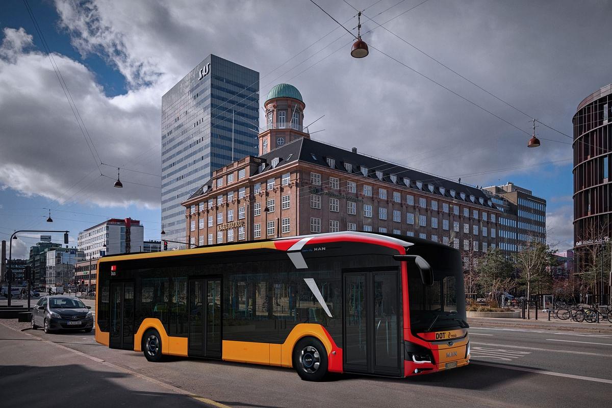 Anchersen Orders 25 Electric MAN Lion's City Buses for Copenhagen