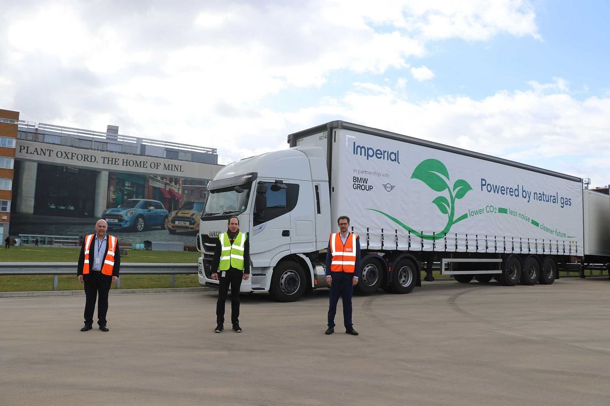 Imperial LNG Lorries