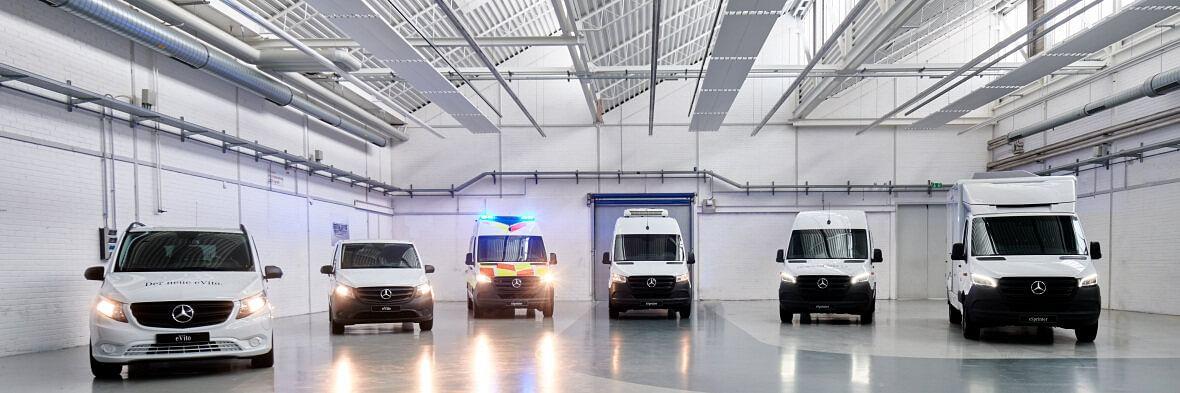 Bodybuilder Solutions for Vans from Mercedes-Benz
