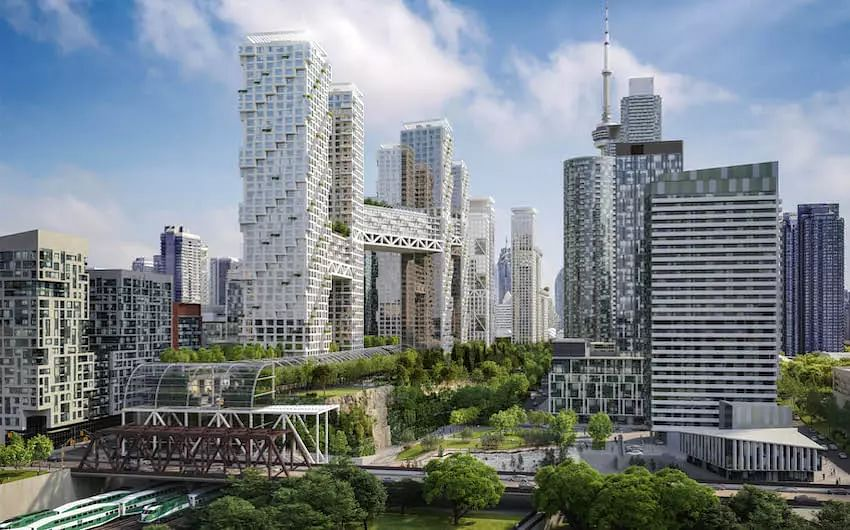 Master-Planned Community Proposed for Toronto's Downtown Core