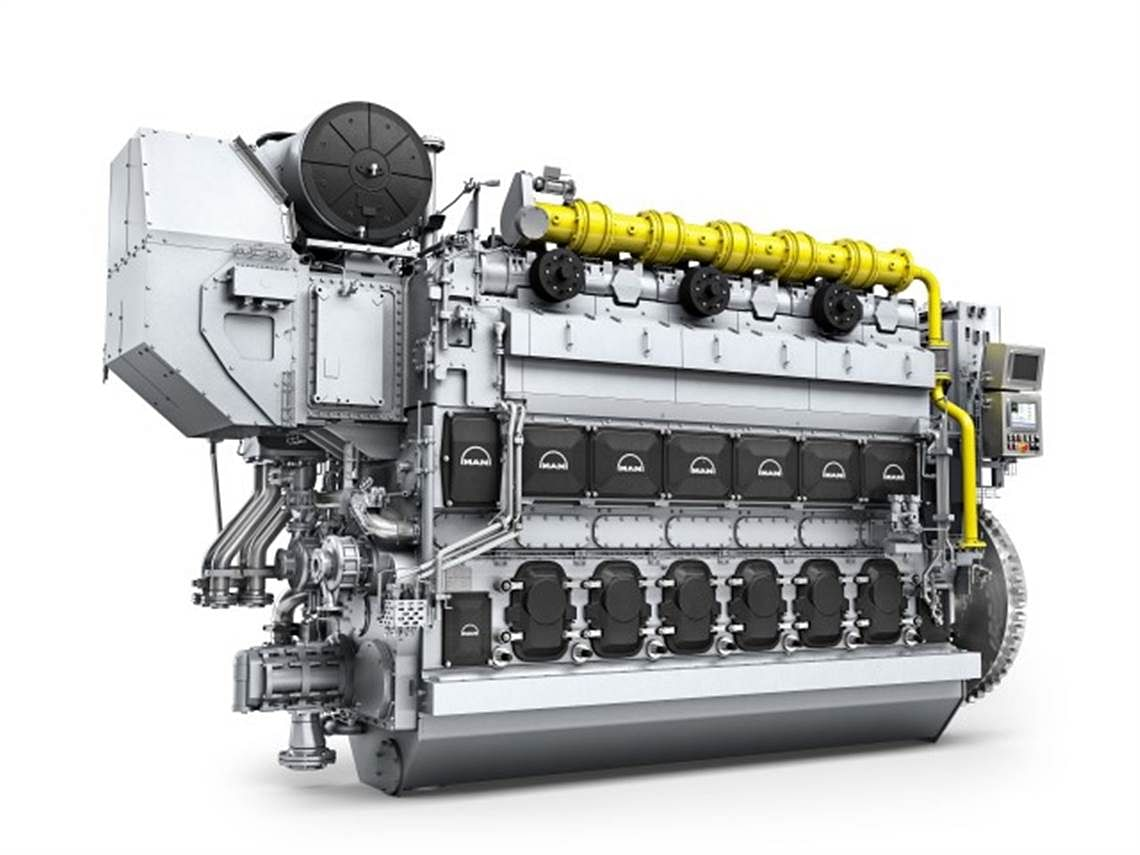 Samsung Heavy Industries Orders ME-GI Engine for Containership